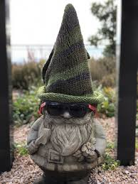 cute lawn gnome named chauncey gnome names gnomes garden sculpture lawn grass