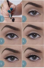 simple natural cat eye makeup
