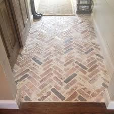 tile flooring that looks like brick. Contemporary Brick Entrance Or Mudroom In Tile Flooring That Looks Like Brick