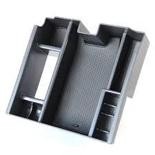 for jaguar xf central armrest storage box car organizer stowing tidying accessories jaguar xf