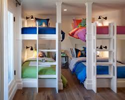 Neutral Kids\u0027 Room with Multiple Bunk Beds | HGTV | my dream house ...