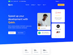 Bootstrap Website Quick Website Ui Kit Light Dark Bootstrap Themes