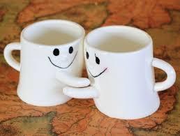 coffee cups with coffee love. Beautiful Coffee Romantic Couple Coffee Mugs Home Designing With Cups Love A