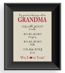 grandma custom gift personalized gift for by kreationsbymarilyn mother gifts mother gifts nana