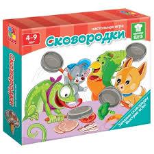 Характеристики модели <b>Настольная игра Vladi</b> Toys Сковородки ...