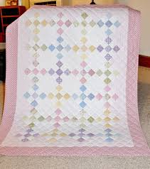Best 25+ Baby girl quilts ideas on Pinterest | Baby quilt patterns ... & Nine Patch for baby girl, by Rhonda Byrd. i am always looking for  inspiration baby quilts. Adamdwight.com