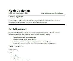 Great Objectives For Resumes Objectives Resume Examples Objective Of A How To Example For 84