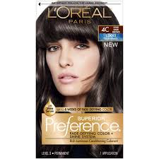 Hair Colors Preference By L Oreal New Loreal Color Chart