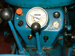 fordson dexta wiring for road use vintage tractor engineer dexta dashboard