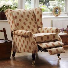 garage fancy wingback recliner chairs
