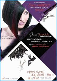 beauty salon flyer templates psd free fabulous 12 hair salon flyer psd hair salon flyer