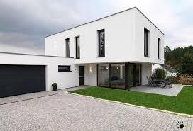 black garage doorAwesome minimalist modern private house with black garage door and