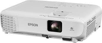 Мультимедийный <b>проектор Epson EB</b>-<b>E001</b>, серый — купить в ...