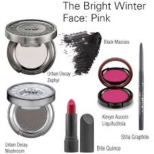 the bright winter face pink by catelinden on polyvore featuring beauty urban decay kevyn aucoin top stila and modern