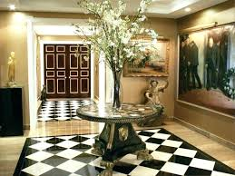round glass foyer table glass foyer tables large round entryway table within foyer tables decorations glass