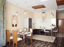 Kitchen Dining Room Combo Dining Room And Kitchen Combo Kitchen Combine Stock Images