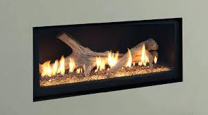 gas fireplace log inserts direct vent insert minimum clearance zero installation