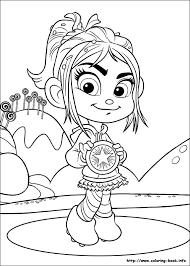 Small Picture Wreck It Ralph coloring picture Coloring Pinterest Digi