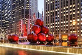 Ornament Display at Rockefeller Center
