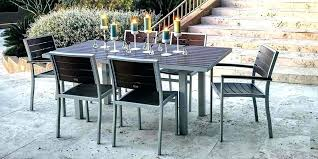 patio set dining plastic outdoor o furniture dining table set elegant recycled patio dining chairs canada