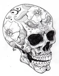 Adult Coloring Pages Adult Coloring Pages Skull Coloring Pages