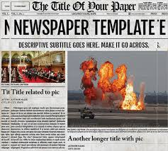 Full Page Newspaper Ad Template Newsletter Newspaper Type Template Free Newspaper Ad Template