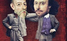 salman rushdie how cervantes and shakespeare wrote the modern what a mash up men of many parts shakespeare and cervantes defy boundaries