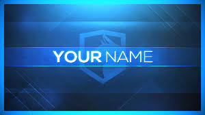Channel Art Template 5 Free Channel Art Templates No Text Any Software