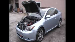 Just in: Front Damaged 2006 Toyota Scion TC 2.4L 5-speed Parts For ...