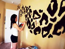 Leopard Print Bedroom Decor Cool Ideas To Paint Your Room Rooms With Black Walls Leopard