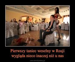 Pierwszy taniec weselny w Rosji wygląda nieco inaczej niż u nas ...