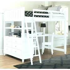 Twin Loft Bed With Desk And Storage Size Full