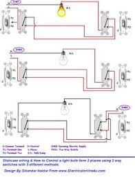 submersible pump control box wiring diagram for 3 wire single phase 3 methods of controlling a light bulb form 2 places using 2 way switches