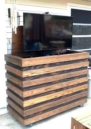 outdoor tv enclosure diy how to build an outdoor cabinet outdoor pop up cabinet about remodel