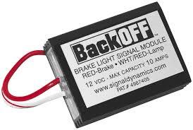 Back Off Brake Light Modulator Signal Dynamics 1001 Back Off Brake Light Signal Module