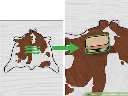 image titled clean cowhide leather step 13