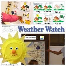 Preschool Weather Activities And Crafts Weather Watch Preschool And