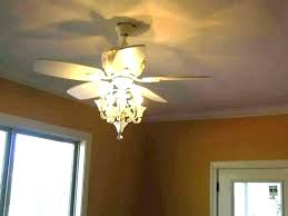 ceiling fan with crystals white chandelier 4 light kit s crystal hanging heavy duty
