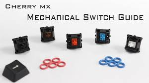 Mx Switches Chart Cherry Mx Mechanical Switch Guide