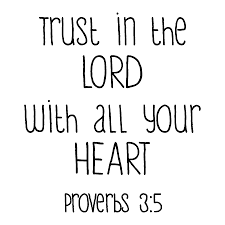 Trust In The Lord Quotes Inspiration Trust In The Lord Wall Quotes™ Decal WallQuotes