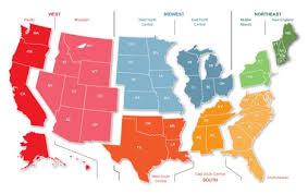 Usps Postal Zone Map Usps Zone Chart Awesome California