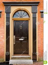 elegant front doors. Exellent Front Elegant Front Door In A Brick Building With Doors E