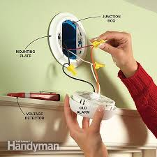 hard wired smoke detector wiring diagrams hard install new hard wired or battery powered smoke alarms the on hard wired smoke detector wiring