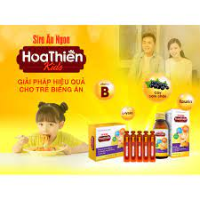 ✓ [MẪU MỚI] Siro Ăn Ngon Hoa Thiên Kids - Giúp trẻ hết biếng ăn, phát triển  toàn diện về trí tuệ, chiều cao và cân nặng