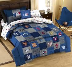 northwest mlb multi team logos twin comforter sets