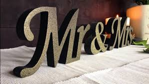 wooden black with gold dust sign mr and mrs wedding signs wooden letters for sweetheart table wedding signs wedding decoration