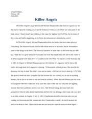 in conclusion araminta harriet ross also known as harriet tubman  4 pages killer angels paper