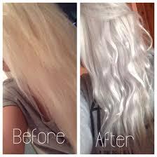 Silver Grey Hair Using Wella T18