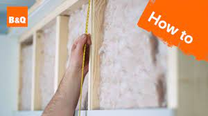to insulate plasterboard a stud wall