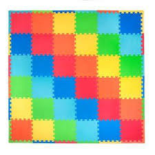 solid color 72 in x 72 in residential floor mat set